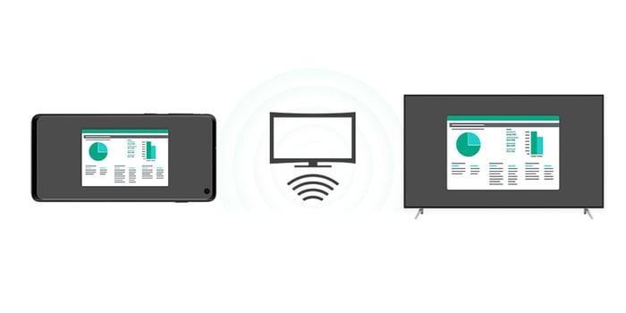 Smart View screen mirroring