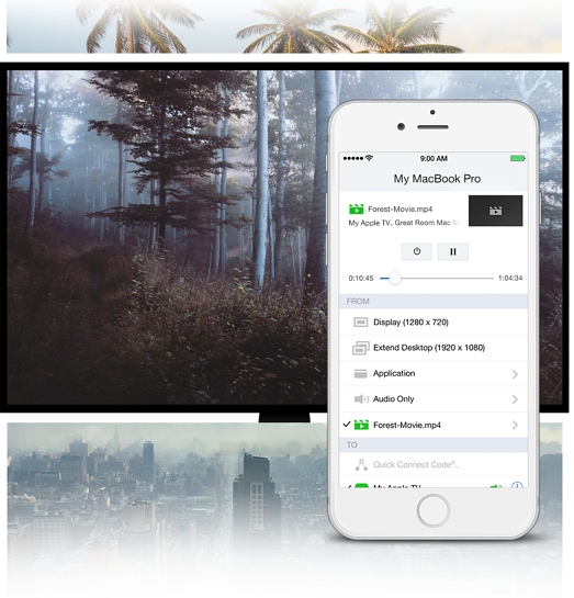 AirParrot Remote for iOS | A remote for AirParrot 2