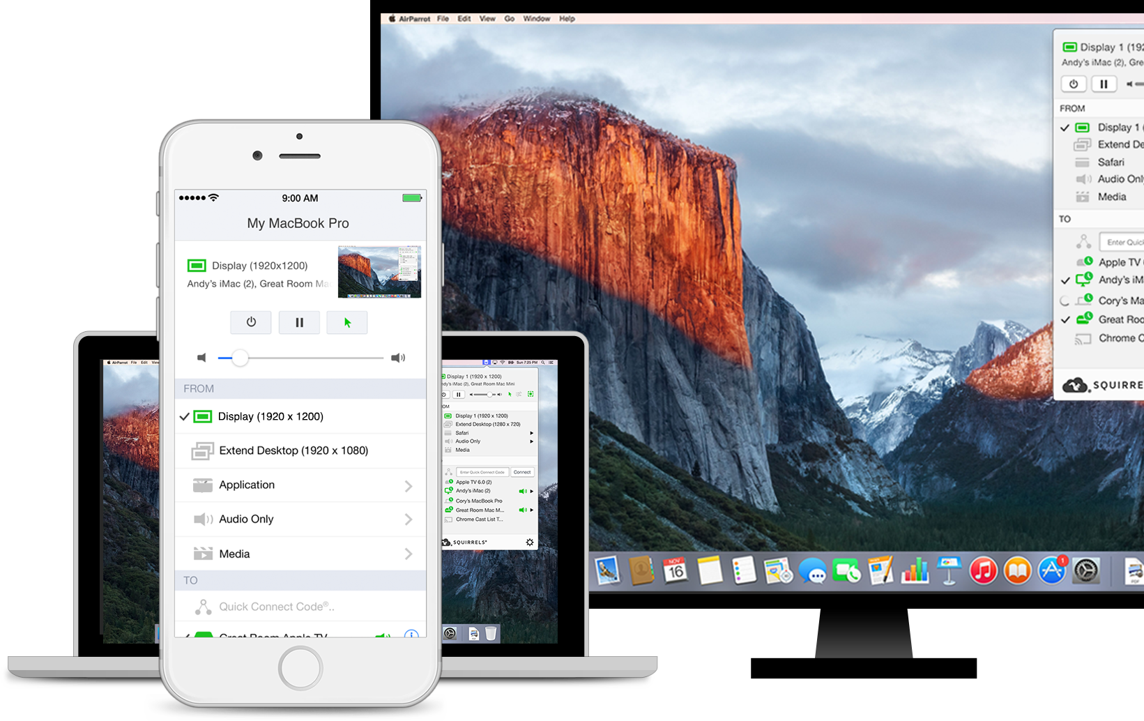 AirParrot 2 | Mirror & stream content from your Mac, PC or