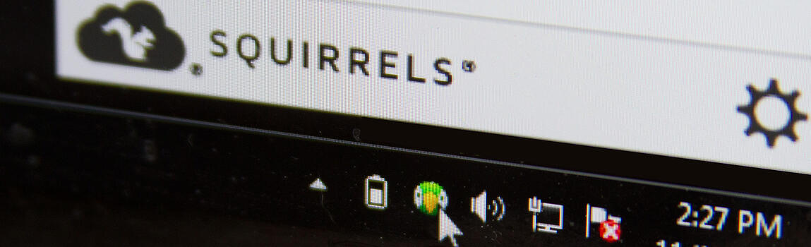 Right click on the AirParrot icon and select the device to mirror to