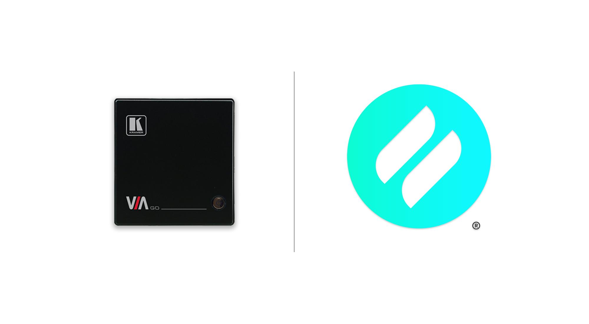 ditto logo and kramer via go device