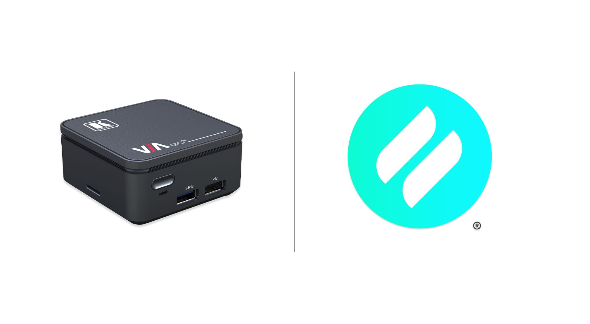 ditto logo and kramer device